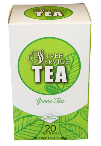 Red Diamond Silver Service Green Tea