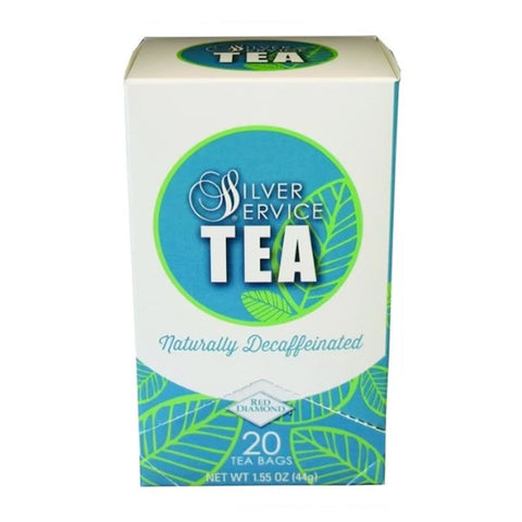 Naturally Healthy Silver Service Decaffeinated Hot Tea Bags