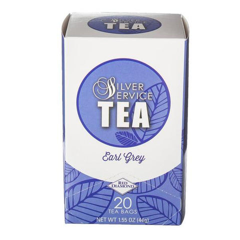 Naturally Healthy Silver Service Earl Grey Hot Tea Bags