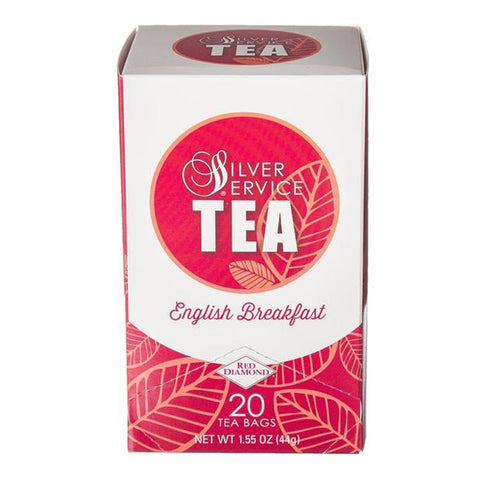 Naturally Healthy Silver Service English Breakfast Hot Tea Bags