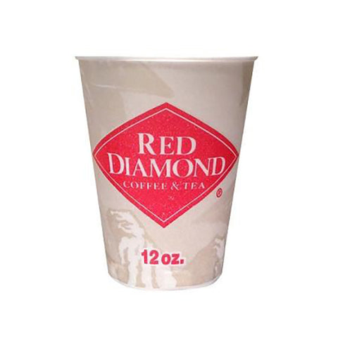 Red Diamond 12 oz Insulated Trophy Coffee Cups 1000 ct