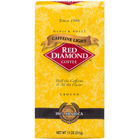 Red Diamond Caffeine Light Ground Coffee 11 oz