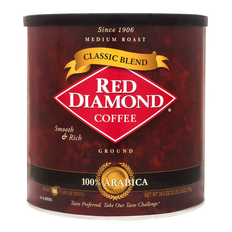 Red Diamond Classic Blend Ground Coffee 34.5 oz