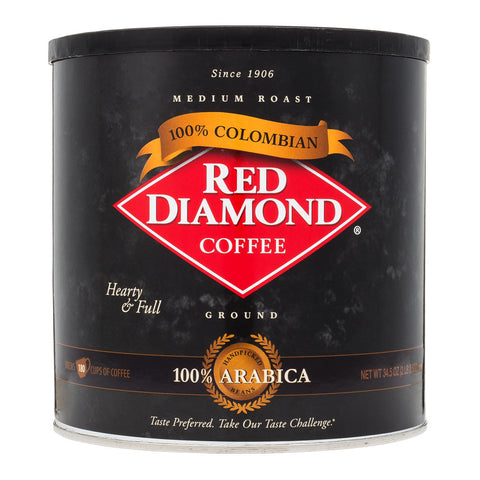 Red Diamond Colombian Ground Coffee 34.5 oz