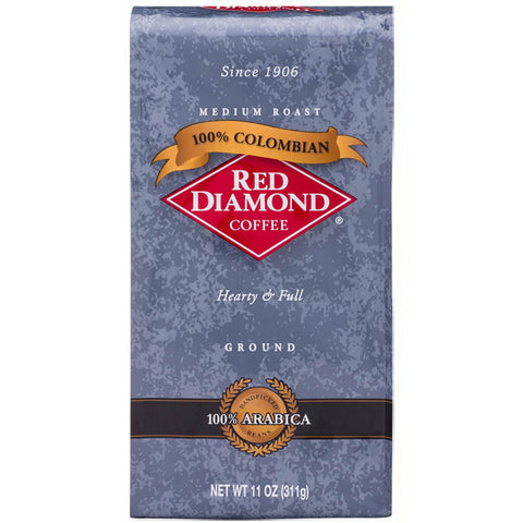 Red Diamond Colombian Ground Coffee 11 oz