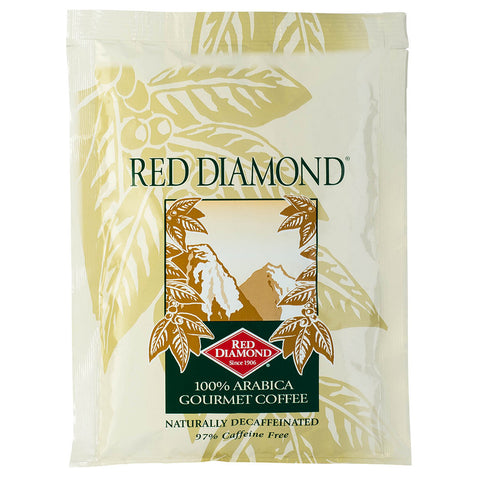 Red Diamond Decaffeinated 1.5 oz Portion Pack Coffee 48 ct