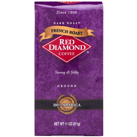 Red Diamond French Roast Ground Coffee 11 oz