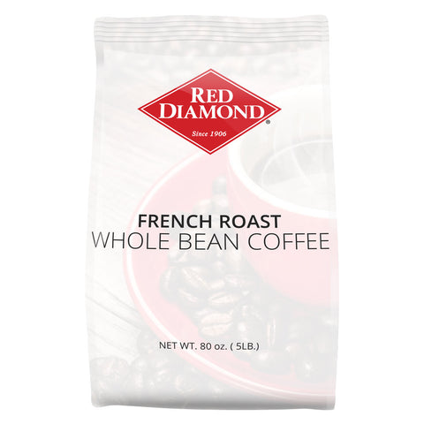 Red Diamond French Roast Whole Bean Coffee 5 lb