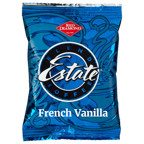 Red Diamond French Vanilla Coffee 2.5 oz Portion Packs 40 ct