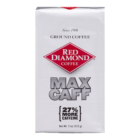Red Diamond Max Caffeine Blend Ground Coffee 11 oz