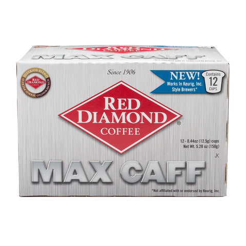 Red Diamond Max Caffeine Single Serve Coffee 12 ct