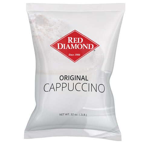 Red Diamond Original Cappuccino Mix 2 lb (Pack of 6)
