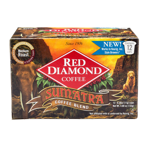Red Diamond Sumatra Blend Single Serve Coffee 12 ct