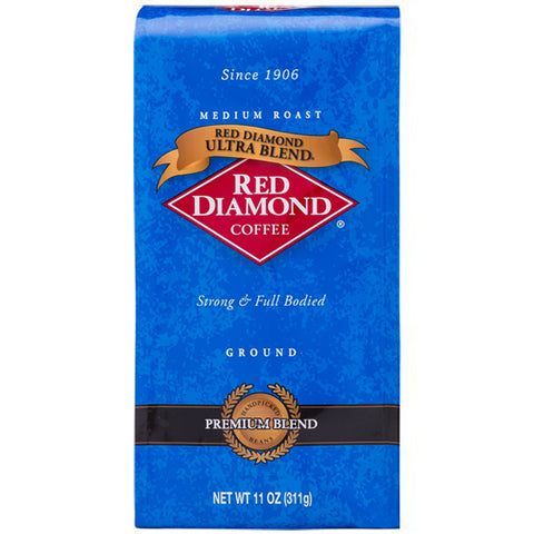 Red Diamond Ultra Blend Ground Coffee 11 oz