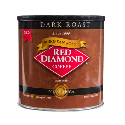 Red Diamond European Dark Roast Coffee