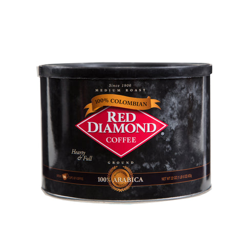 Red Diamond 100% Colombian Ground Coffee 22 oz