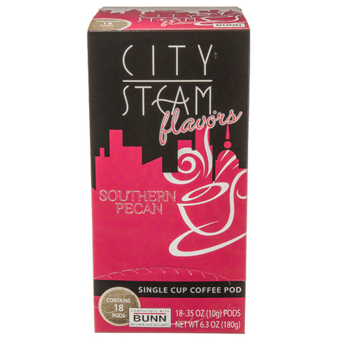 City Steam® Southern Pecan Coffee Pods 18 ct
