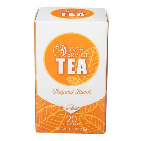 Naturally Healthy Silver Service Tropical Blend Hot Tea Bags