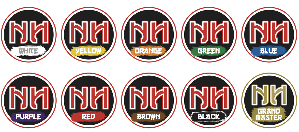 Ninja Belt Reward Stickers- School Starter Pack (70 students)