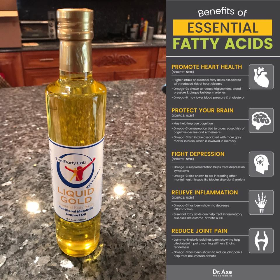 Liquid Gold Healthy Oils