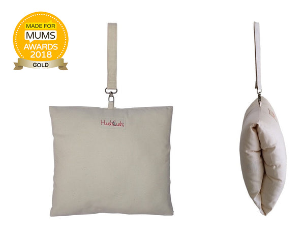 HushCush Nursing Arm Pillow Neutral