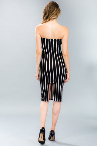 Lace-up Back Maxi Dress - BD2245