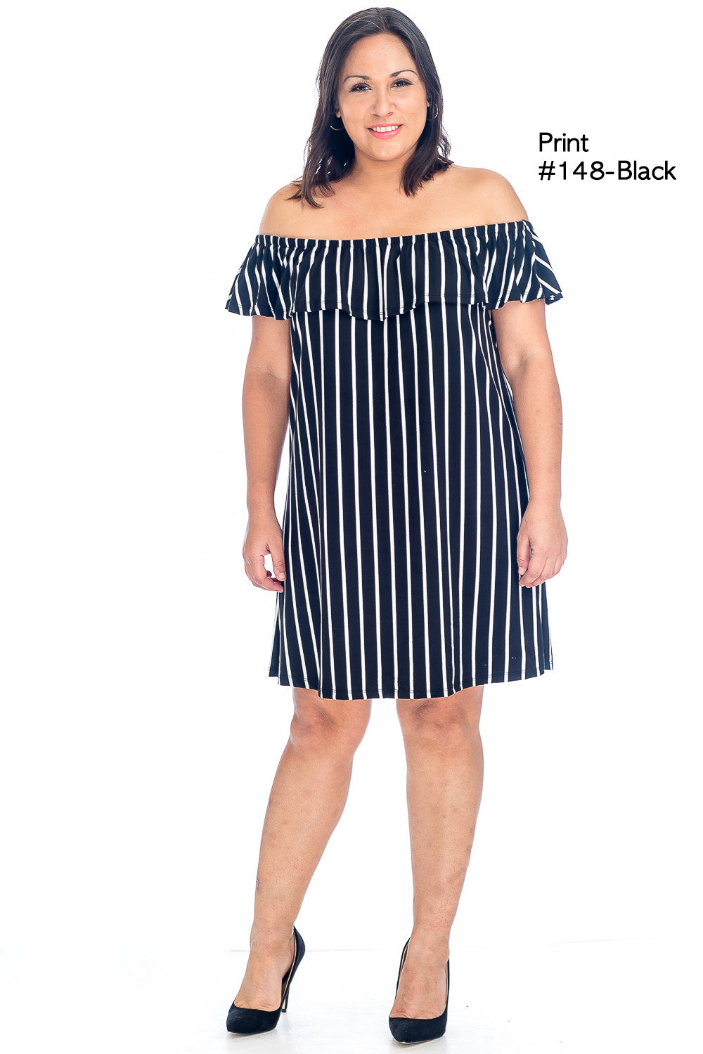Dress - BD2095X (Plus Size) - Capella Apparel