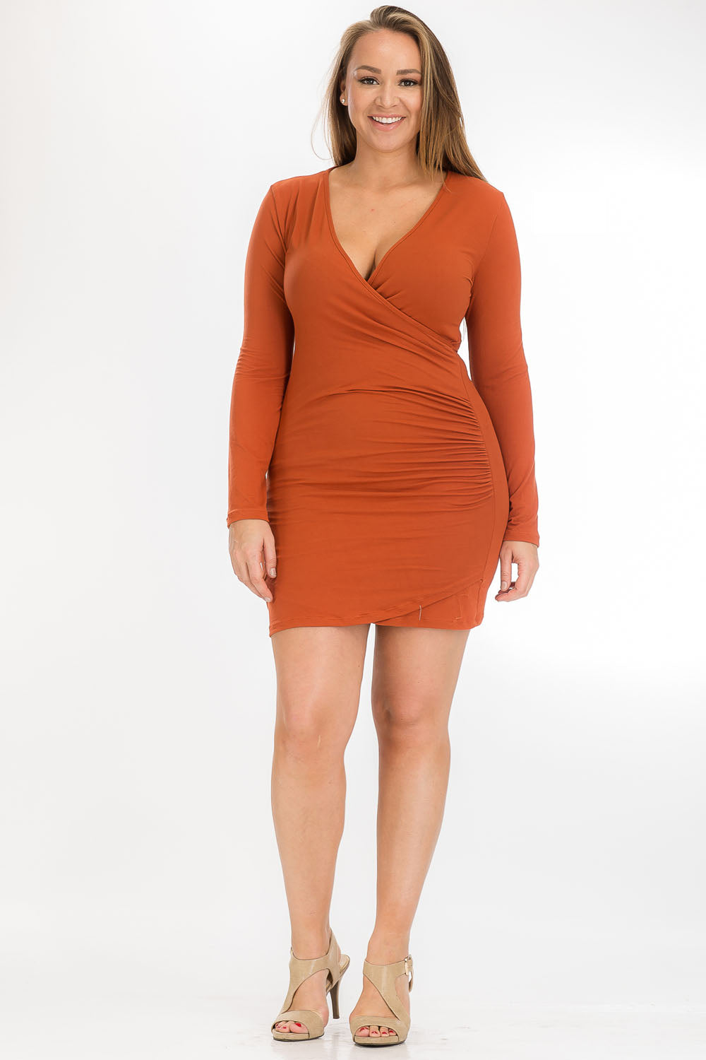 Dress - BD2172X (PLUS SIZE) - Capella Apparel