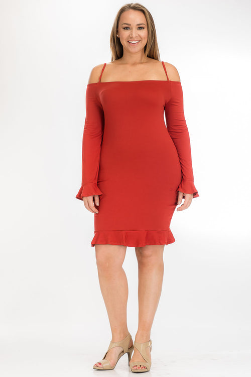 Dress - BD2171X (Plus Size) - Capella Apparel