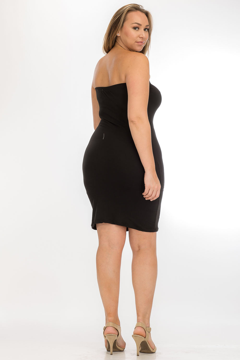 Dress - BD2124X (Plus Size) - Capella Apparel