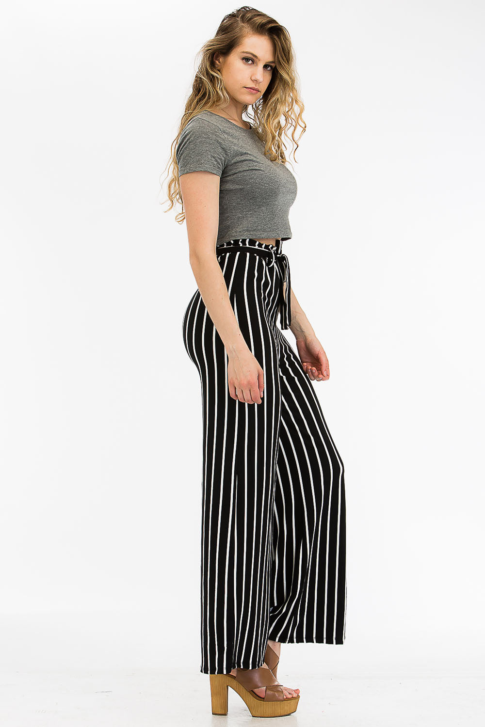 Wide Leg Pants - BP2158 - Capella Apparel