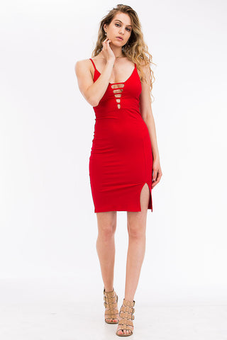 Tie-Front Dress - BD2283