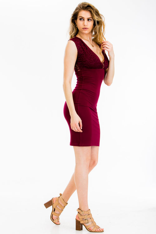 Lace Dress - BD2233 - Capella Apparel