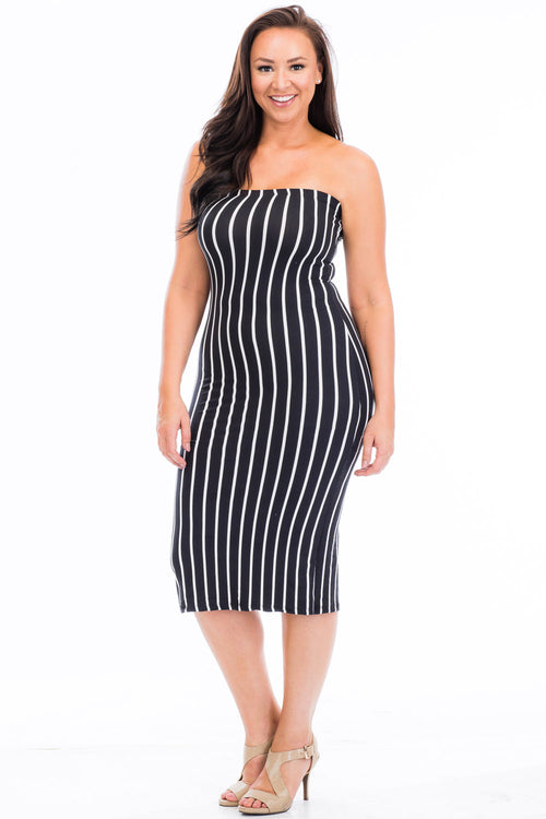 Dress - BD2125X (Plus Size) - Capella Apparel
