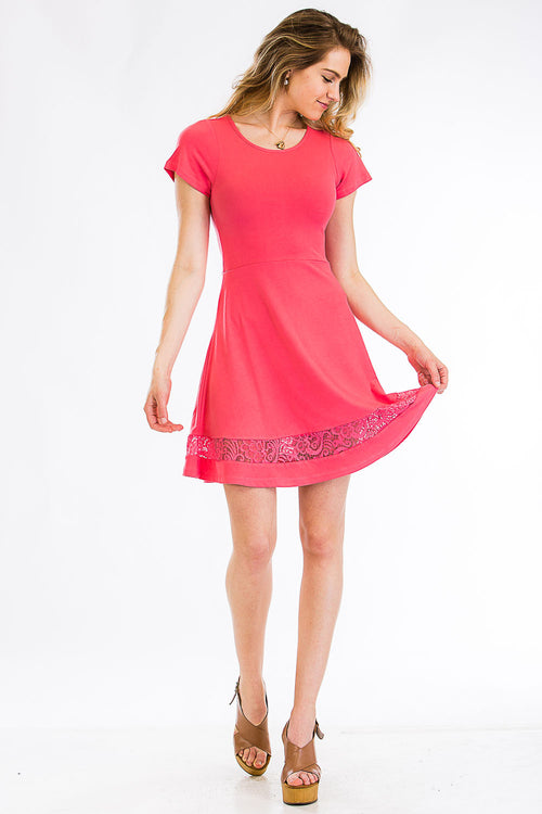 Fit & Flare Dress - BD2234 - Capella Apparel