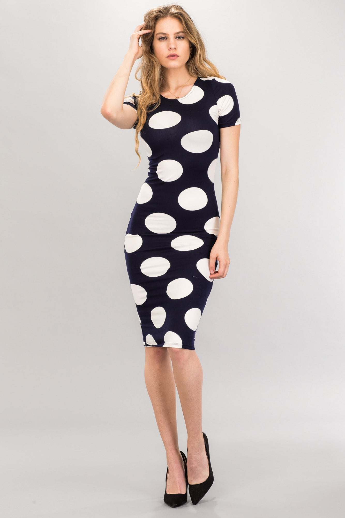 Knit Bodycon Dress - BD2190 - Capella Apparel