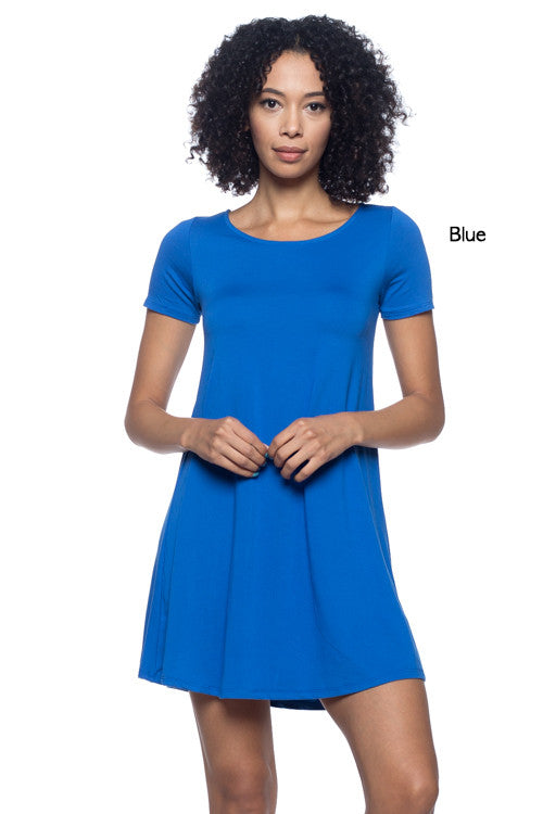 Trapeze Dress - BD1880 - Capella Apparel