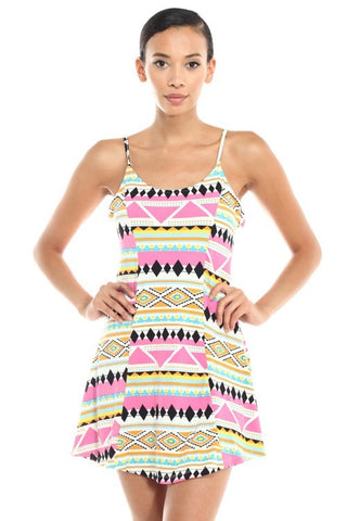 Scoop Back Dress - BD1652