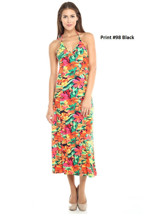 Halter Dress - BD1774 - Capella Apparel