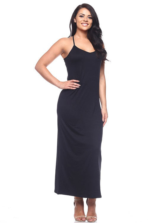 Cami Maxi Dress - BD1704X (Plus Size) - Capella Apparel