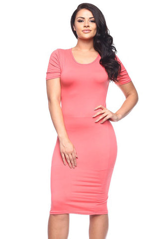 Dress - BD2124X (Plus Size)