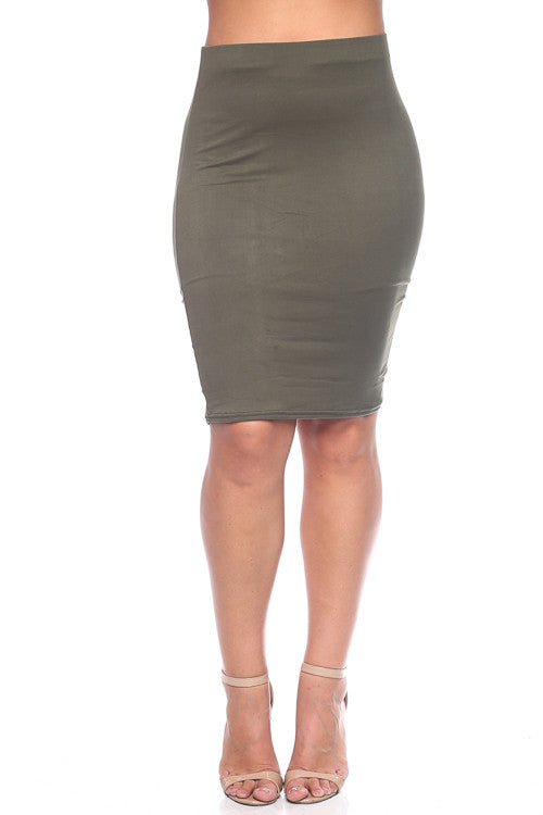 Skirt - BS1876X (Plus Size) - Capella Apparel