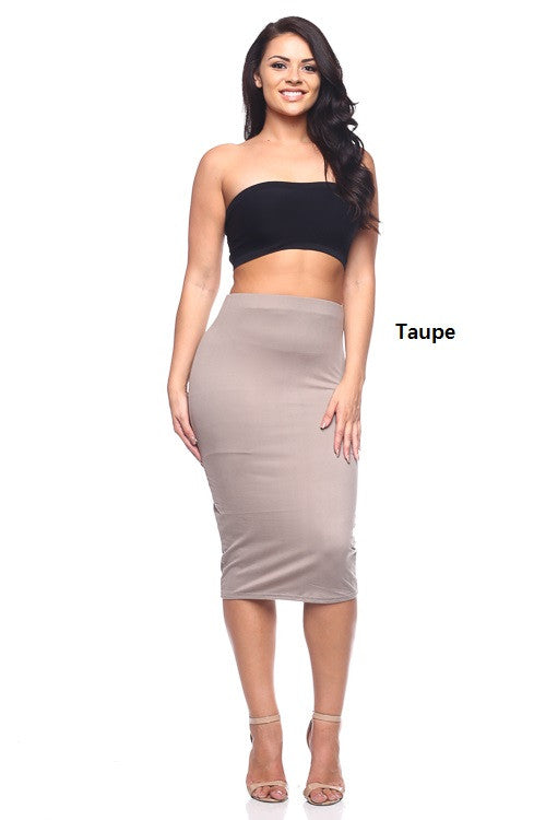 Skirt - BS1830X (Plus Size) - Capella Apparel