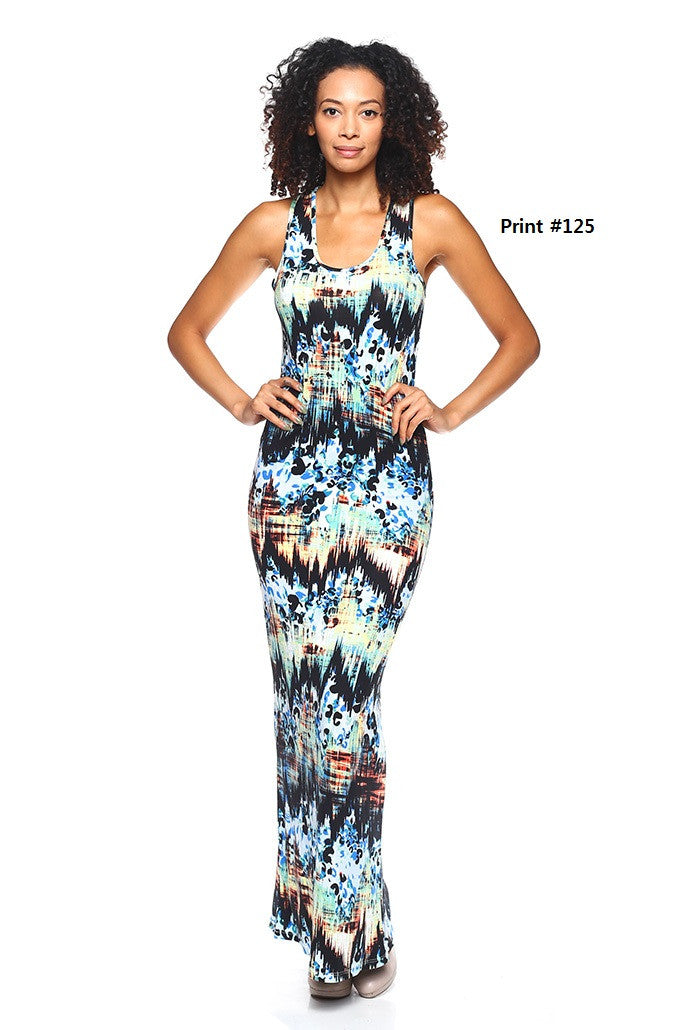 Tank Maxi Dress - BD1581 - Capella Apparel