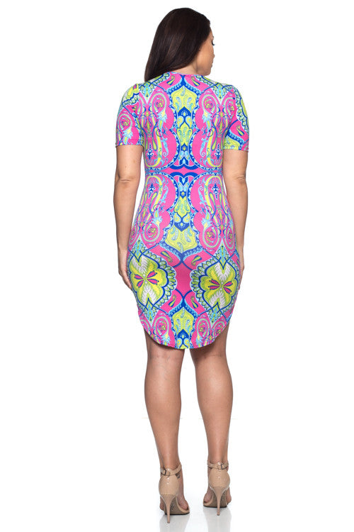 Dress - BD1940X (Plus Size) - Capella Apparel
