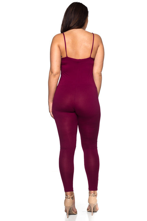 Jumpsuit - BP2020X (Plus Size) - Capella Apparel