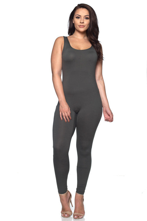 Jumpsuit - BP1923X (Plus Size) - Capella Apparel