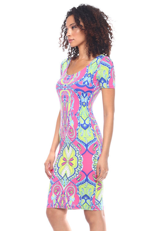 Scoop Back Dress - BD1652 - Capella Apparel