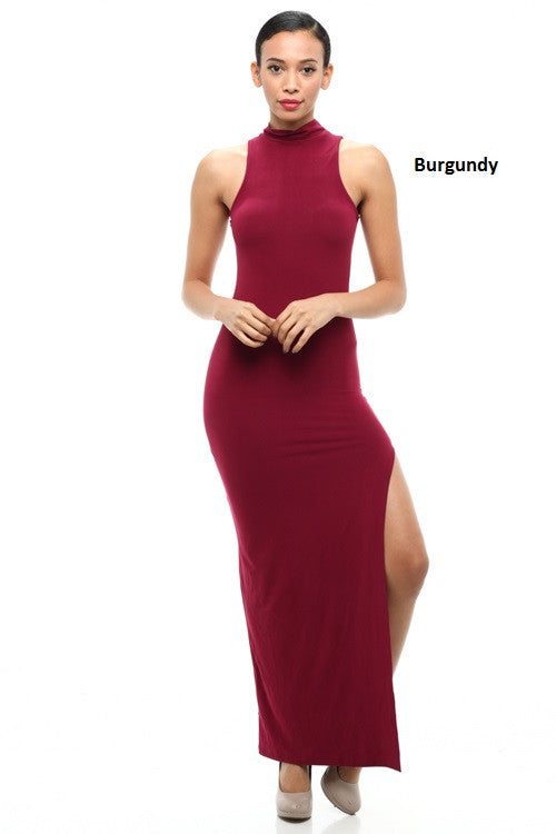 Mock Neck Dress - BD1791 - Capella Apparel