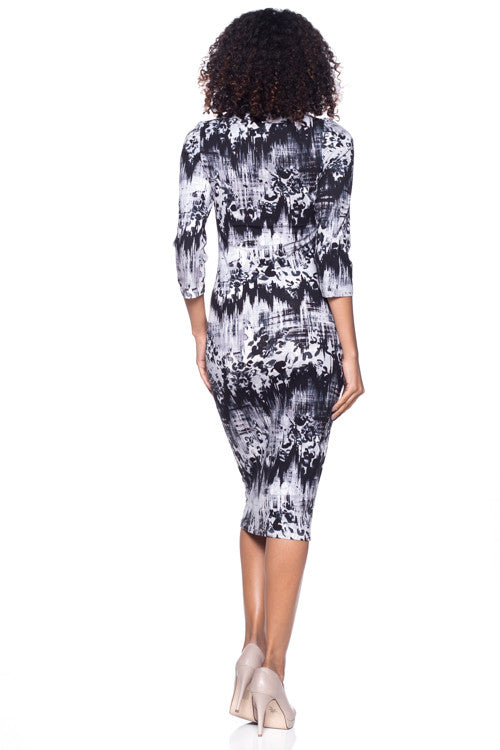 Crew Neck Dress - BD1855 - Capella Apparel